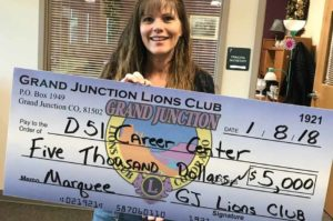 Grand Junction Lions Club Golf Donations